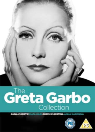 Swedish actress Greta Garbo